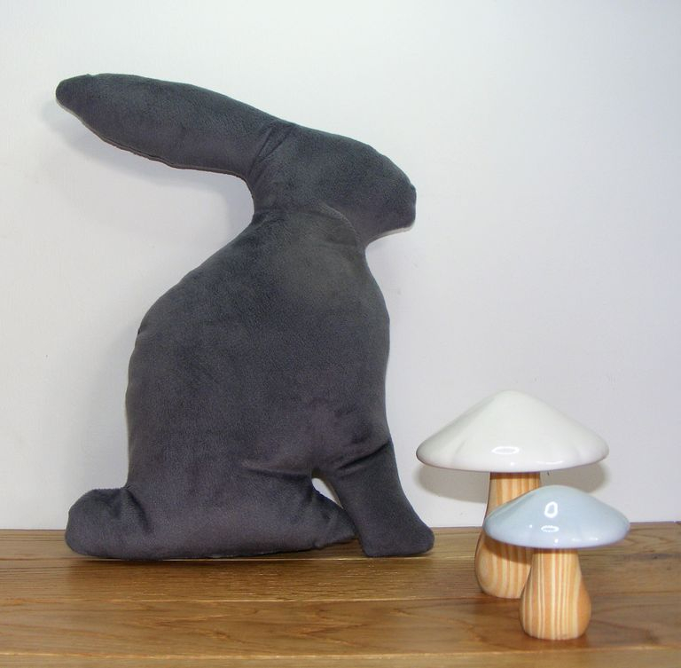 Lapin, gris, collection Arthus